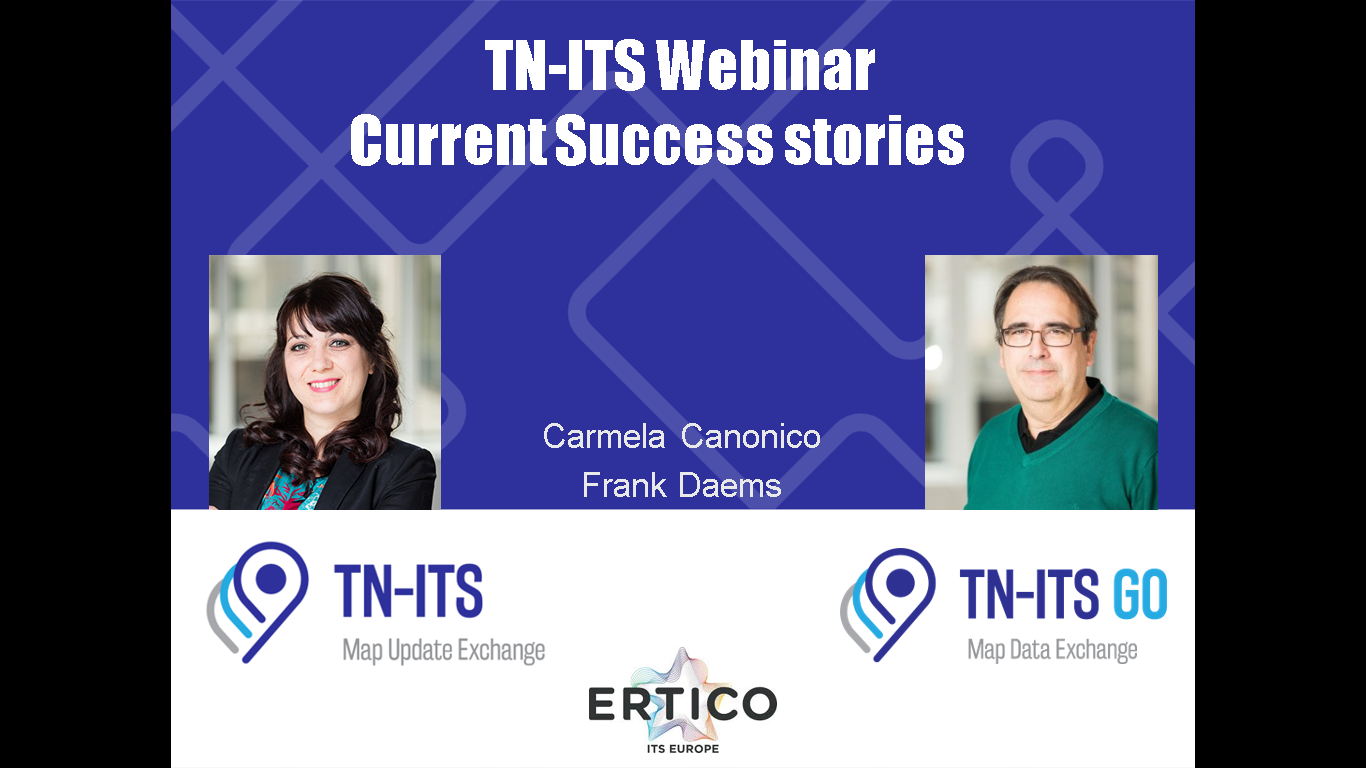 TN-ITS GO HOSTS WEBINAR ON IMPLEMENTATION SUCCESS STORIES